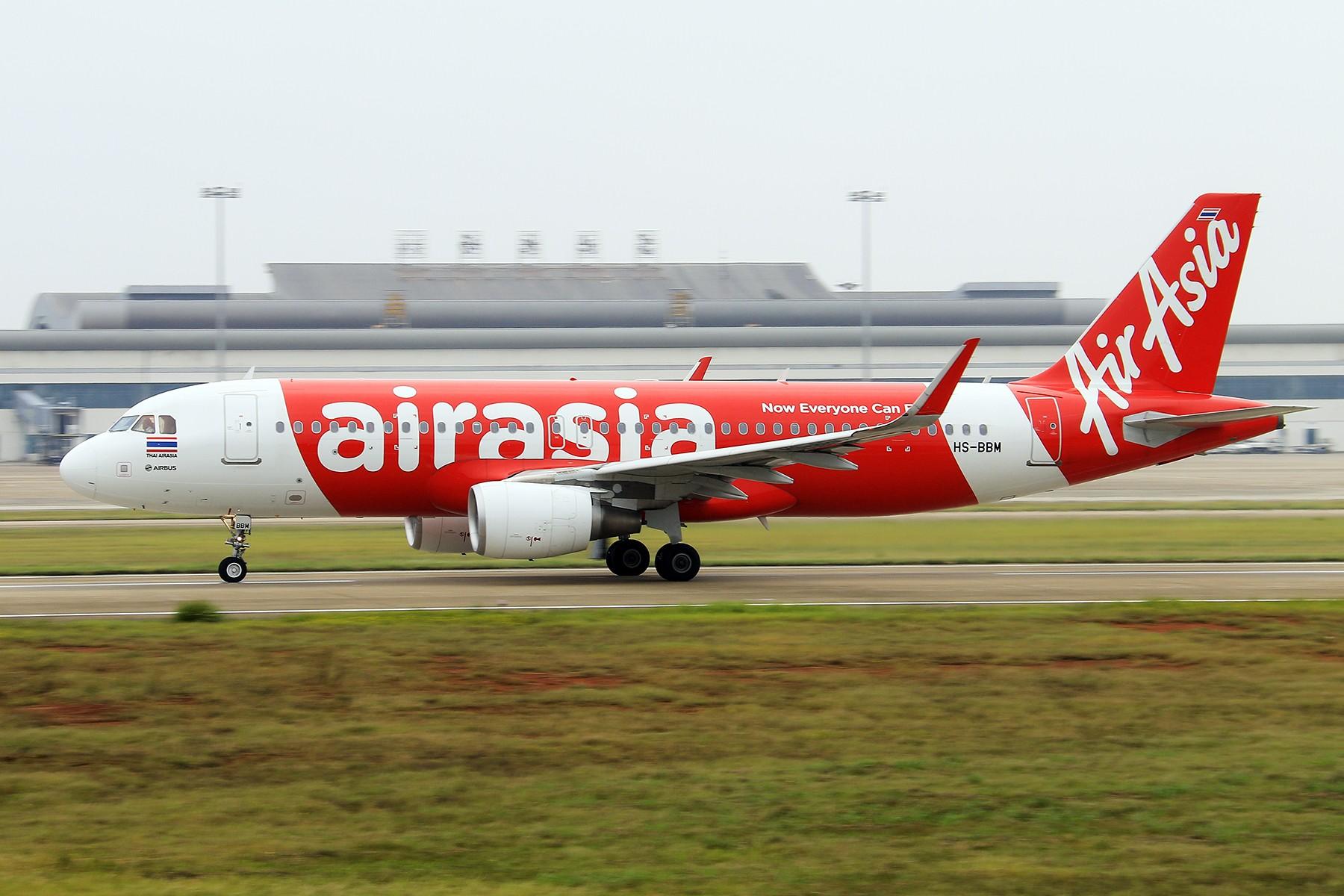Re:【南昌飞友会】AIRASIA~~~~~~~HS-BBM【1800*1200高清大图】 AIRBUS A320-200 HS-BBM 中国南昌昌北国际机场