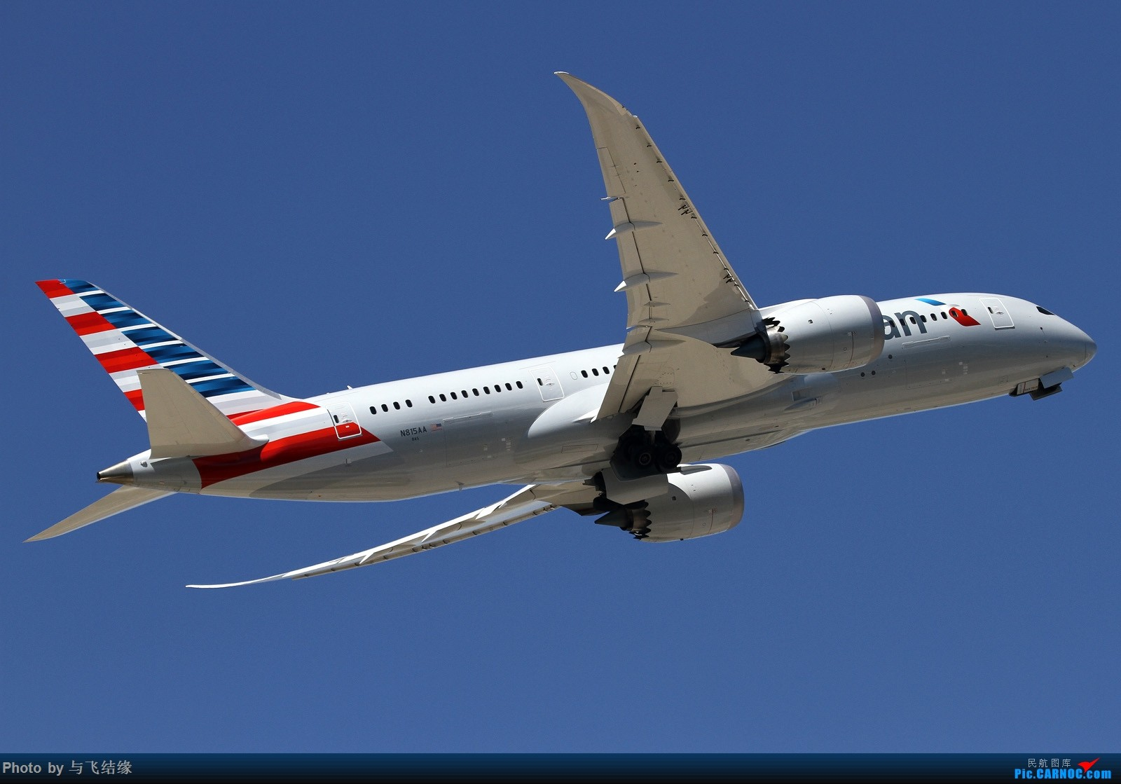 [原创]787呀787还是787! BOEING 787-8 N815AA 中国北京首都国际机场