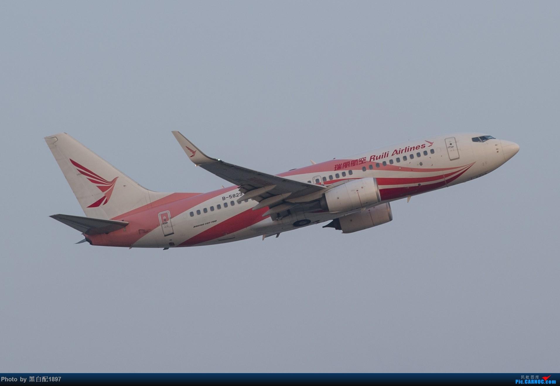 Re:[原创]国庆长水二日游之一 BOEING 737-700 B-5829 中国昆明长水国际机场