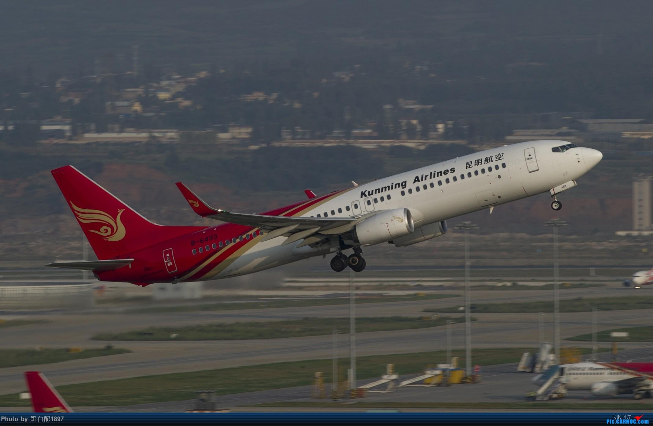 Re:[原创]国庆长水二日游之一 BOEING 737-800 B-6493 中国昆明长水国际机场