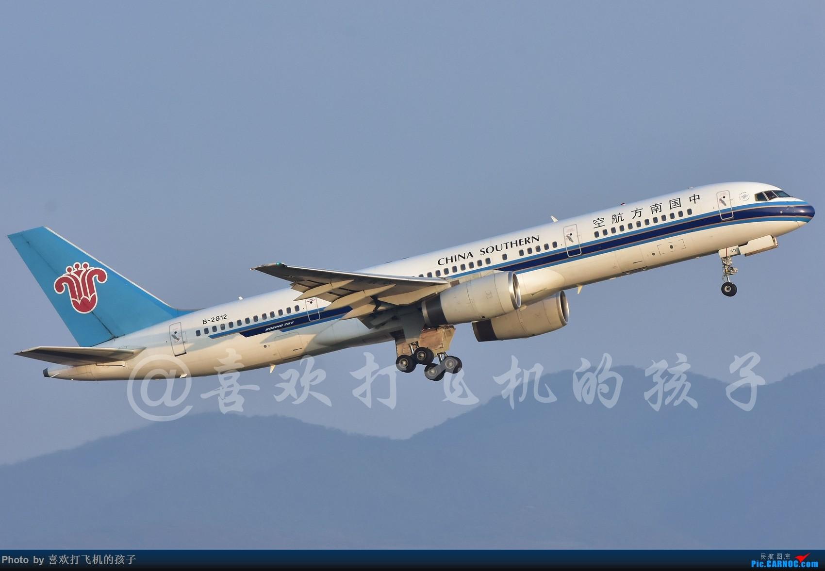 [原创]KMG 南航757-200 B-2812 BOEING 757-200 B-2812 中国昆明长水国际机场