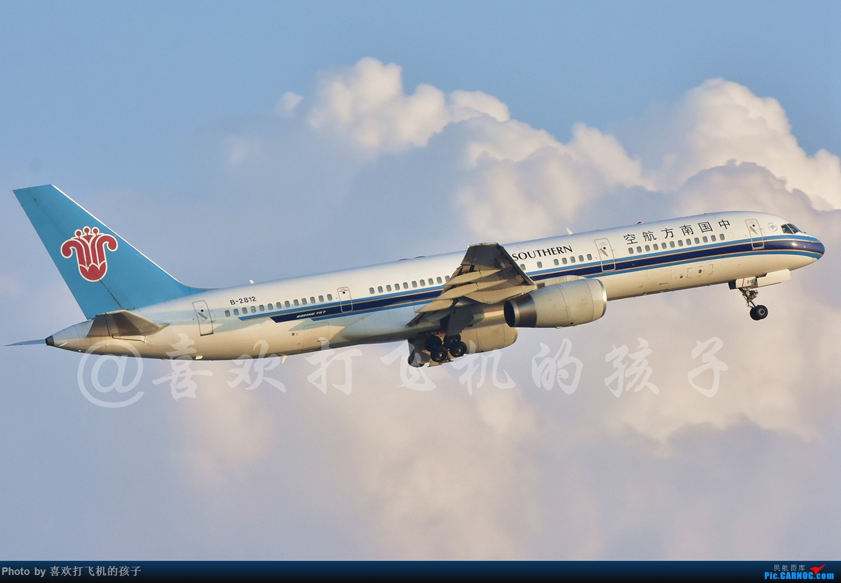 Re:[原创]KMG 南航757-200 B-2812 BOEING 757-200 B-2812 中国昆明长水国际机场