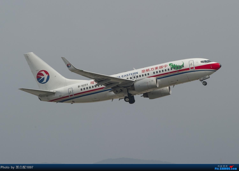 Re:[原创]国庆长水二日游之二 BOEING 737-700 B-5231 中国昆明长水国际机场
