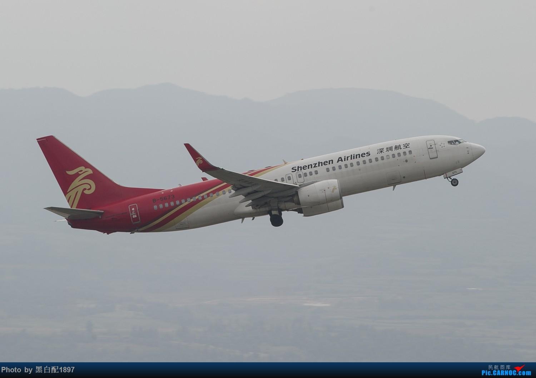 Re:[原创]国庆长水二日游之二 BOEING 737-800 B-5673 中国昆明长水国际机场