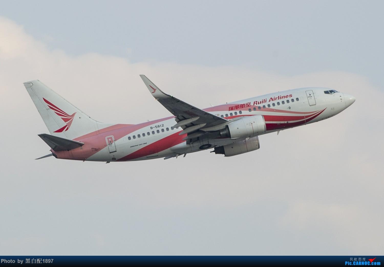 Re:[原创]国庆长水二日游之二 BOEING 737-700 B-5812 中国昆明长水国际机场