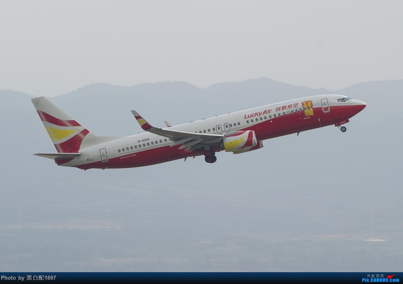 Re:[原创]国庆长水二日游之二 BOEING 737-800 B-6016 中国昆明长水国际机场
