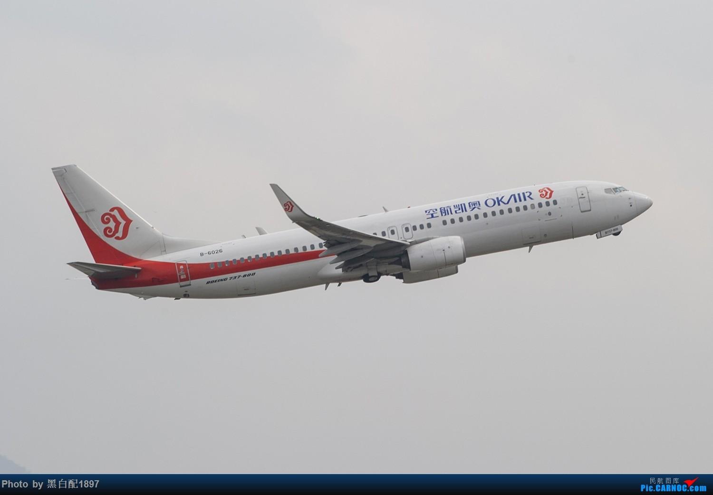 Re:[原创]国庆长水二日游之二 BOEING 737-800 B-6026 中国昆明长水国际机场