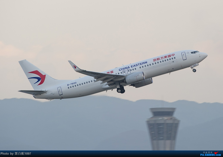 Re:[原创]国庆长水二日游之二 BOEING 737-800 B-7600 中国昆明长水国际机场