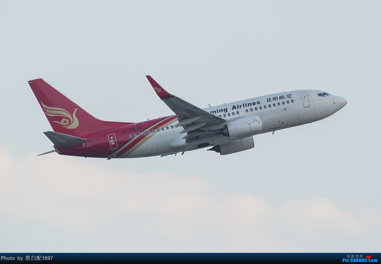 Re:[原创]国庆长水二日游之二 BOEING 737-700 B-7870 中国昆明长水国际机场