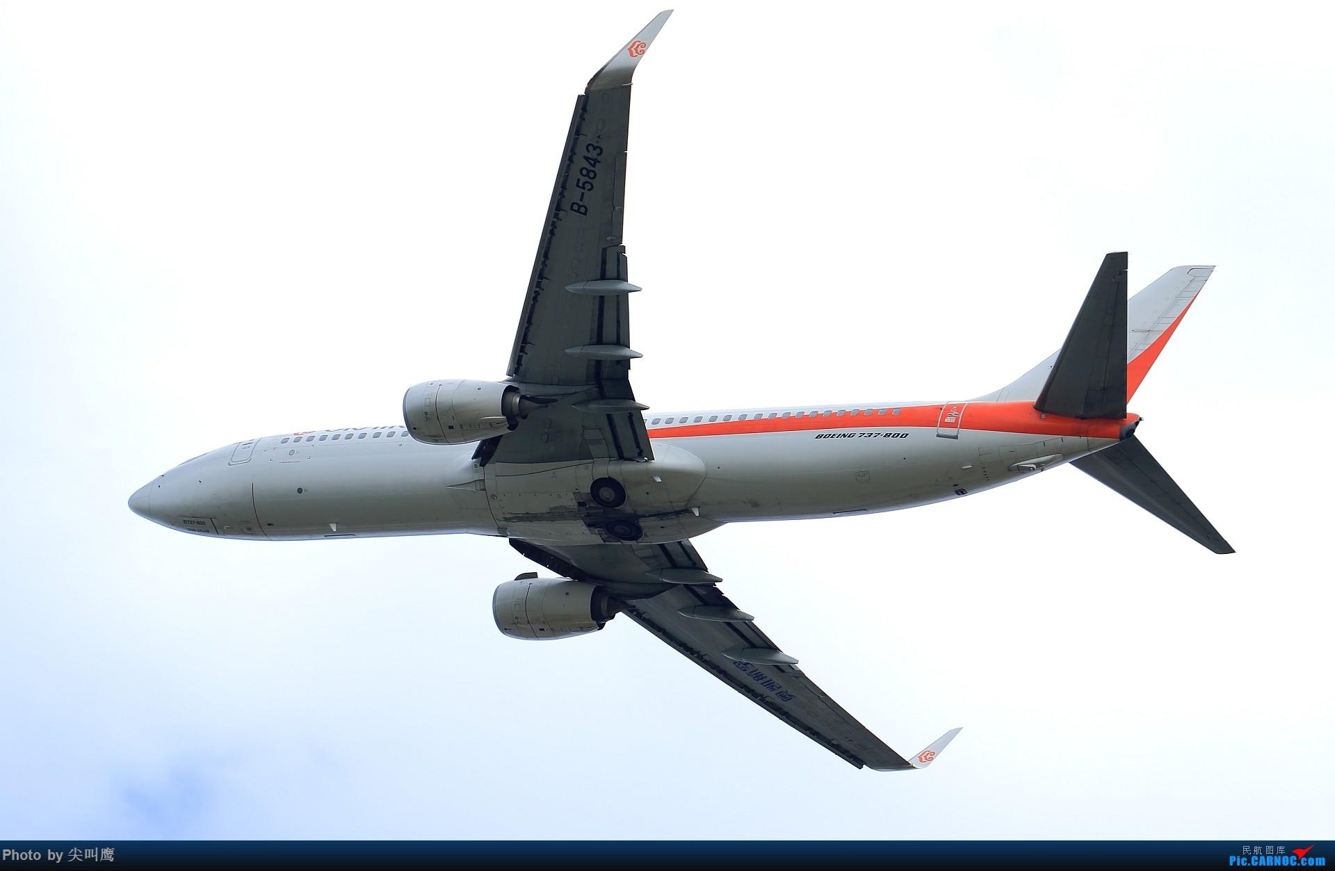 Re:换个角度看起飞 BOEING 737-800 B-5843 中国南宁吴圩国际机场