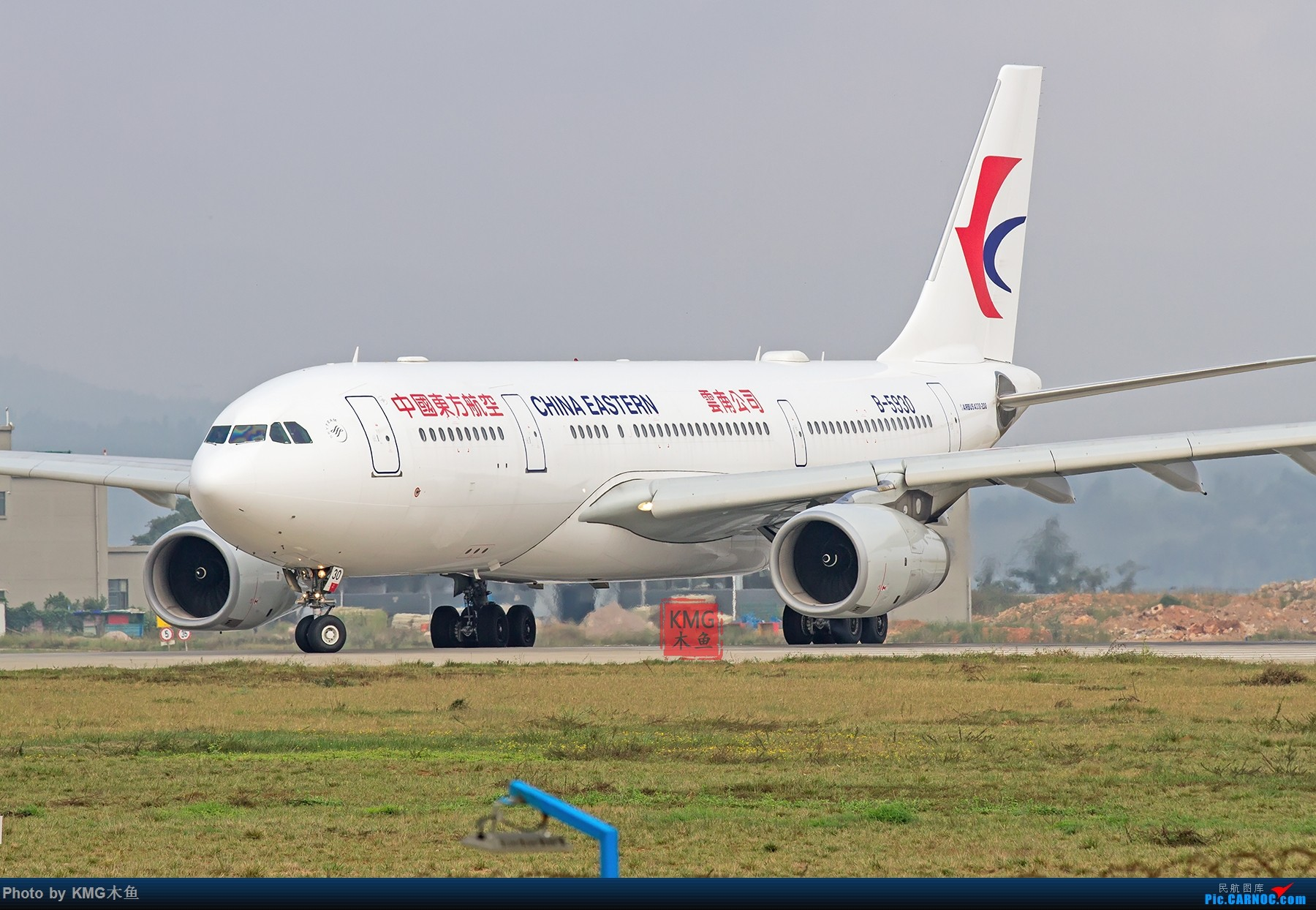 [原创]【昆明长水国际机场—KMG木鱼10.16日拍机】周末拍机,有宽体,有彩绘,少了小伙伴们,独自一人拍机 AIRBUS A330-200 B-5930 中国昆明长水国际机场