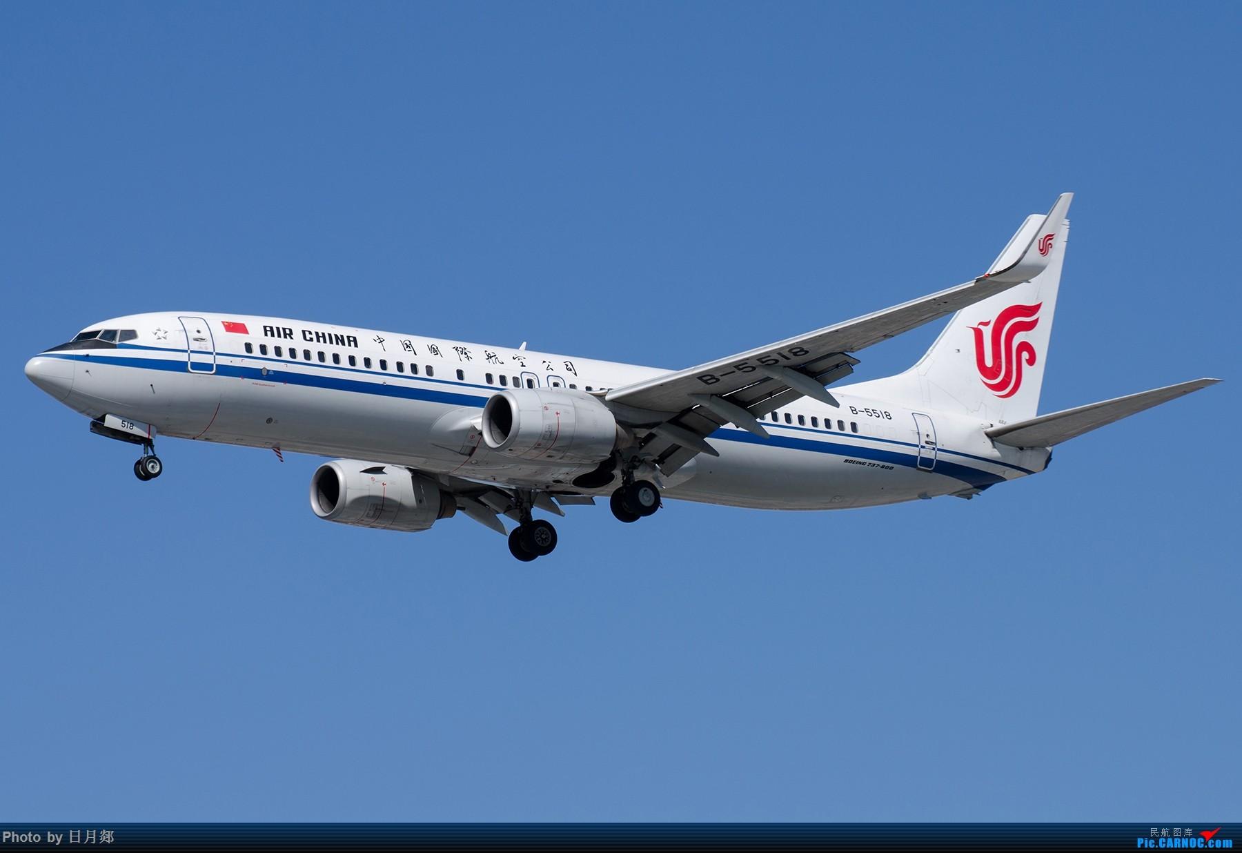 Re:[原创]【SHA拍机*1800大图】国庆的存货接着发,台风啥时候才能过去 BOEING 737-800 B-5518 中国上海虹桥国际机场