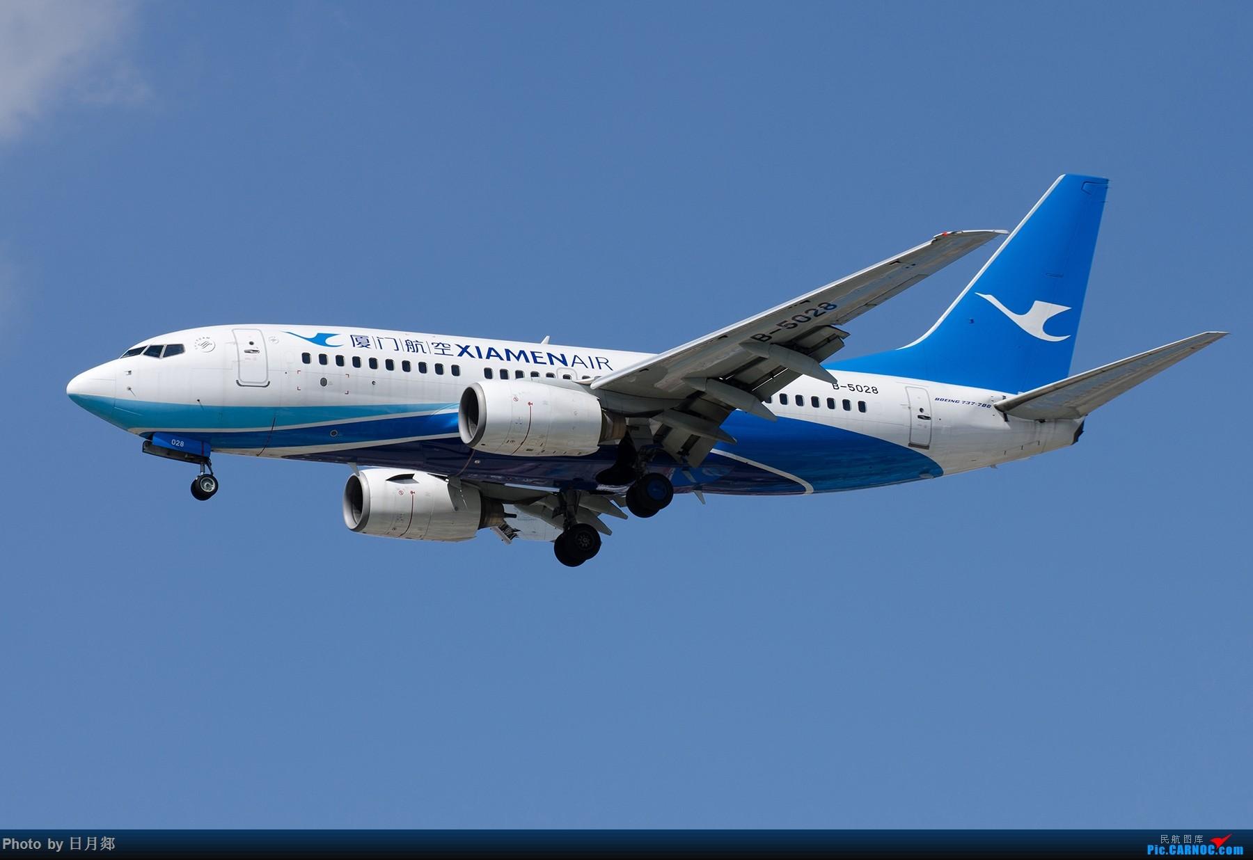 Re:[原创]【SHA拍机*1800大图】国庆的存货接着发,台风啥时候才能过去 BOEING 737-700 B-5028 中国上海虹桥国际机场