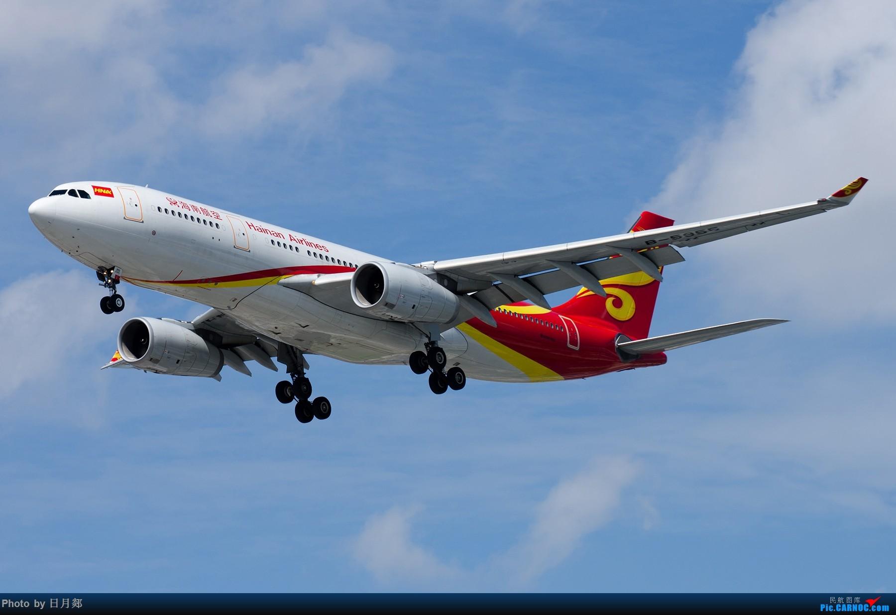 Re:[原创]【SHA拍机*1800大图】国庆的存货接着发,台风啥时候才能过去 AIRBUS A330-200 B-5955 中国上海虹桥国际机场