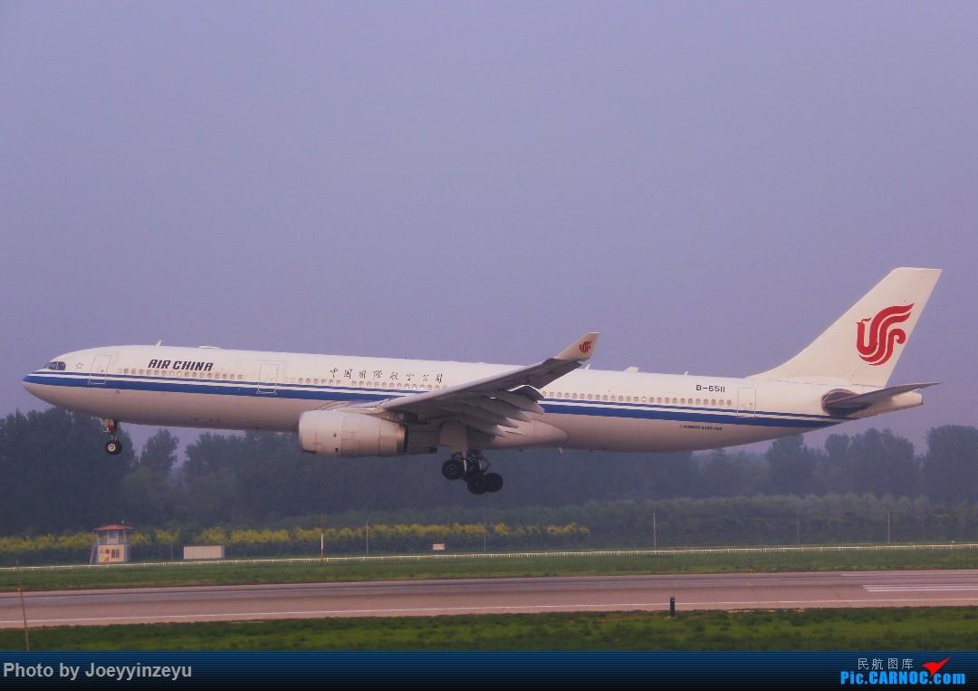 Re:[原创]帝都机场大拍机,烂天好货多,收录各种远程机型及外航,青瓷小飞机 AIRBUS A330-300 B-6511 中国北京首都国际机场