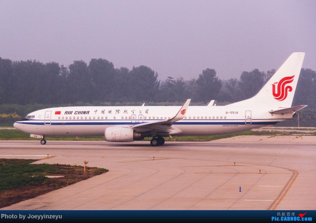 Re:[原创]帝都机场大拍机,烂天好货多,收录各种远程机型及外航,青瓷小飞机 BOEING 737-800 B-5518 中国北京首都国际机场