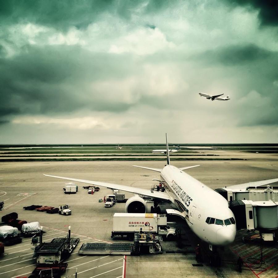Re: [原创]【 澳航 B747 | 天涯海角走两遍 | 卡航 B777 】 B777-312ER 9V-SWH 中国上海浦东国际机场