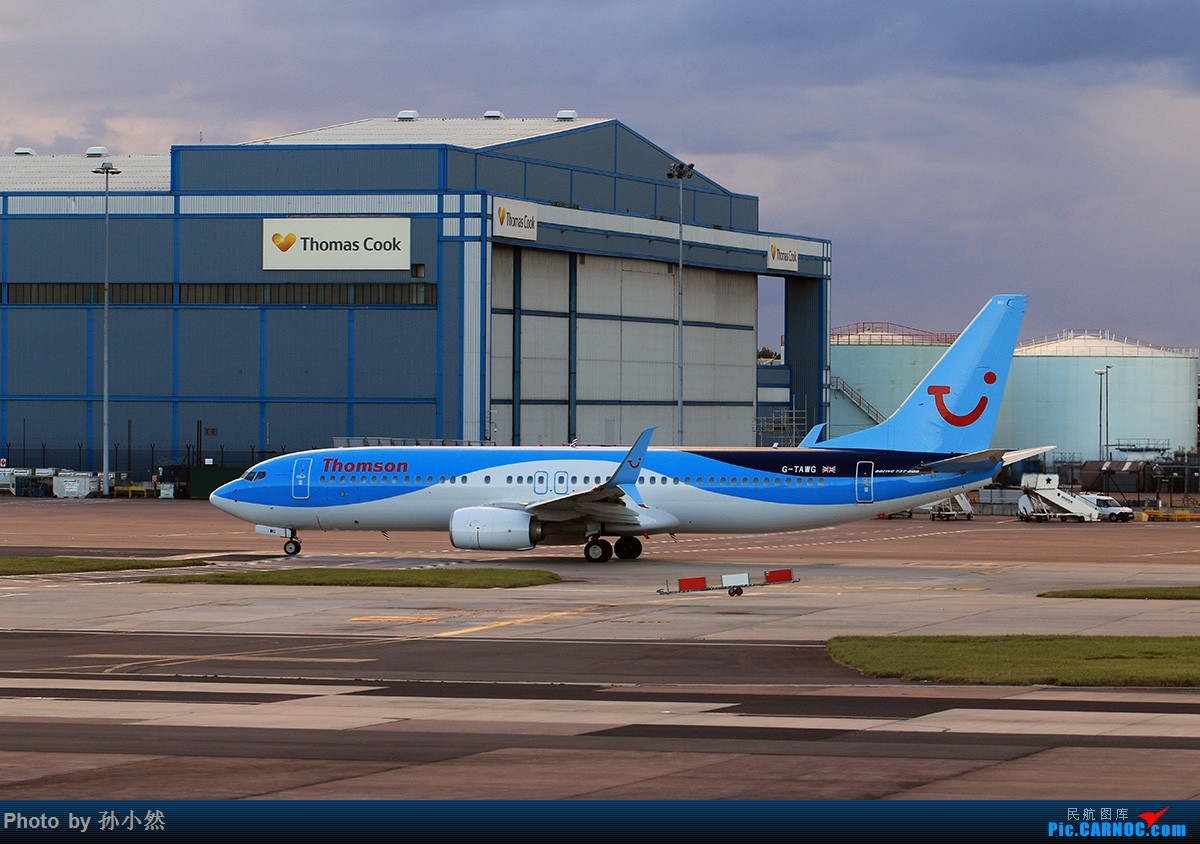 Re:[原创]曼彻斯特-哥本哈根-爱丁堡 MAN-CPH-EDI 欧洲自制铁空联运easyjet BOEING 737-800 G-TAWG 英国曼彻斯特机场