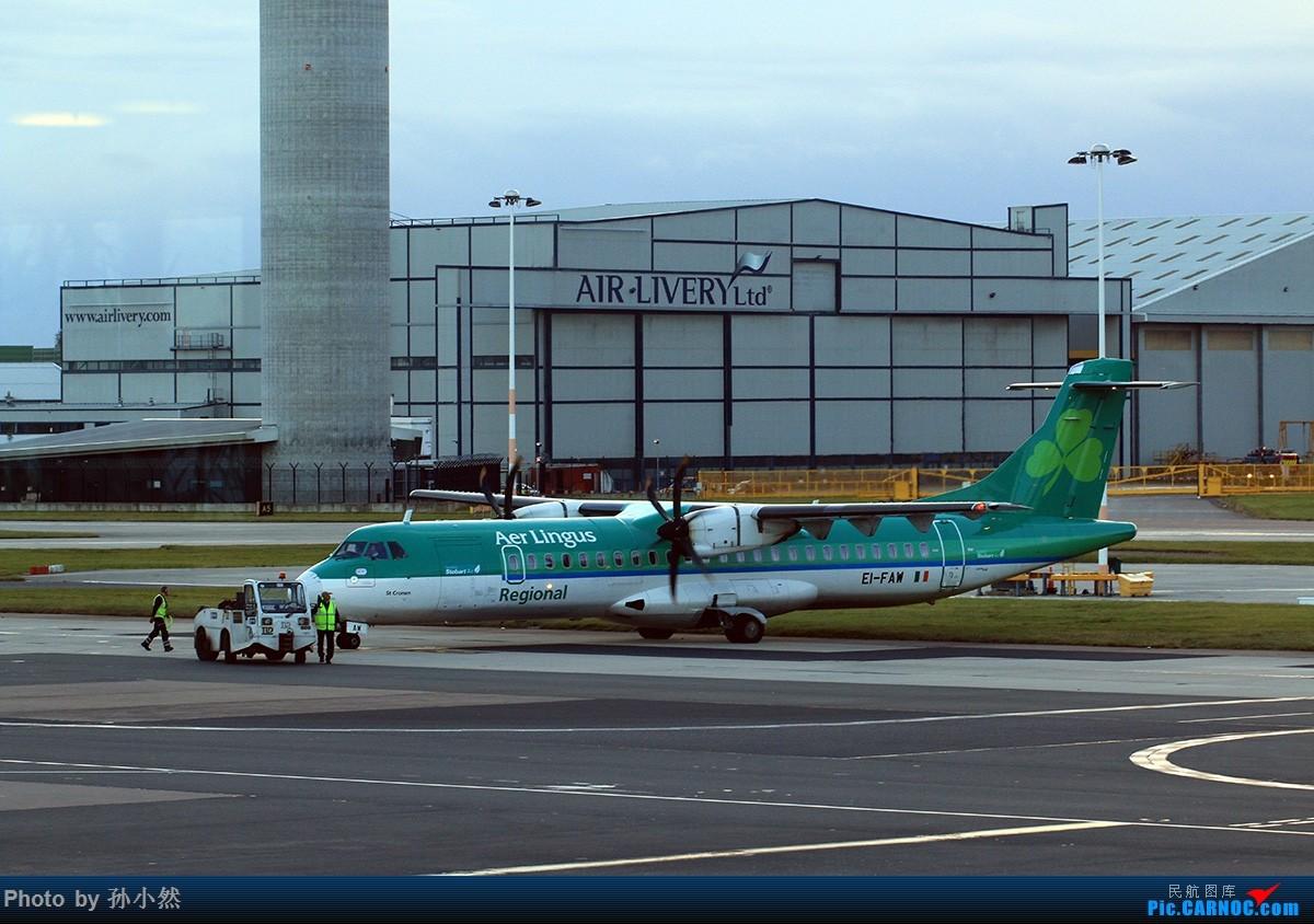 Re:[原创]曼彻斯特-哥本哈根-爱丁堡 MAN-CPH-EDI 欧洲自制铁空联运easyjet ATR-72 EI-FAW 英国曼彻斯特机场