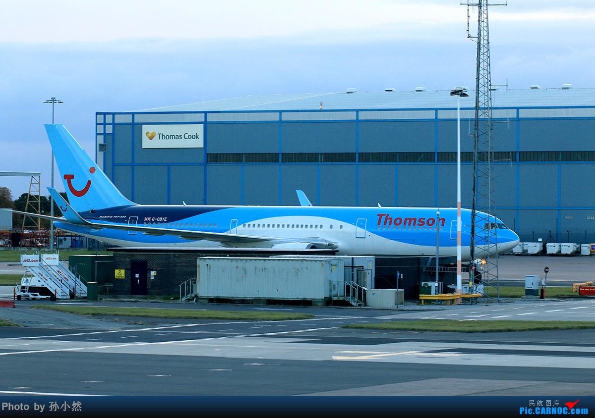 Re:[原创]曼彻斯特-哥本哈根-爱丁堡 MAN-CPH-EDI 欧洲自制铁空联运easyjet BOEING 767-300ER G-OBYE 英国曼彻斯特机场