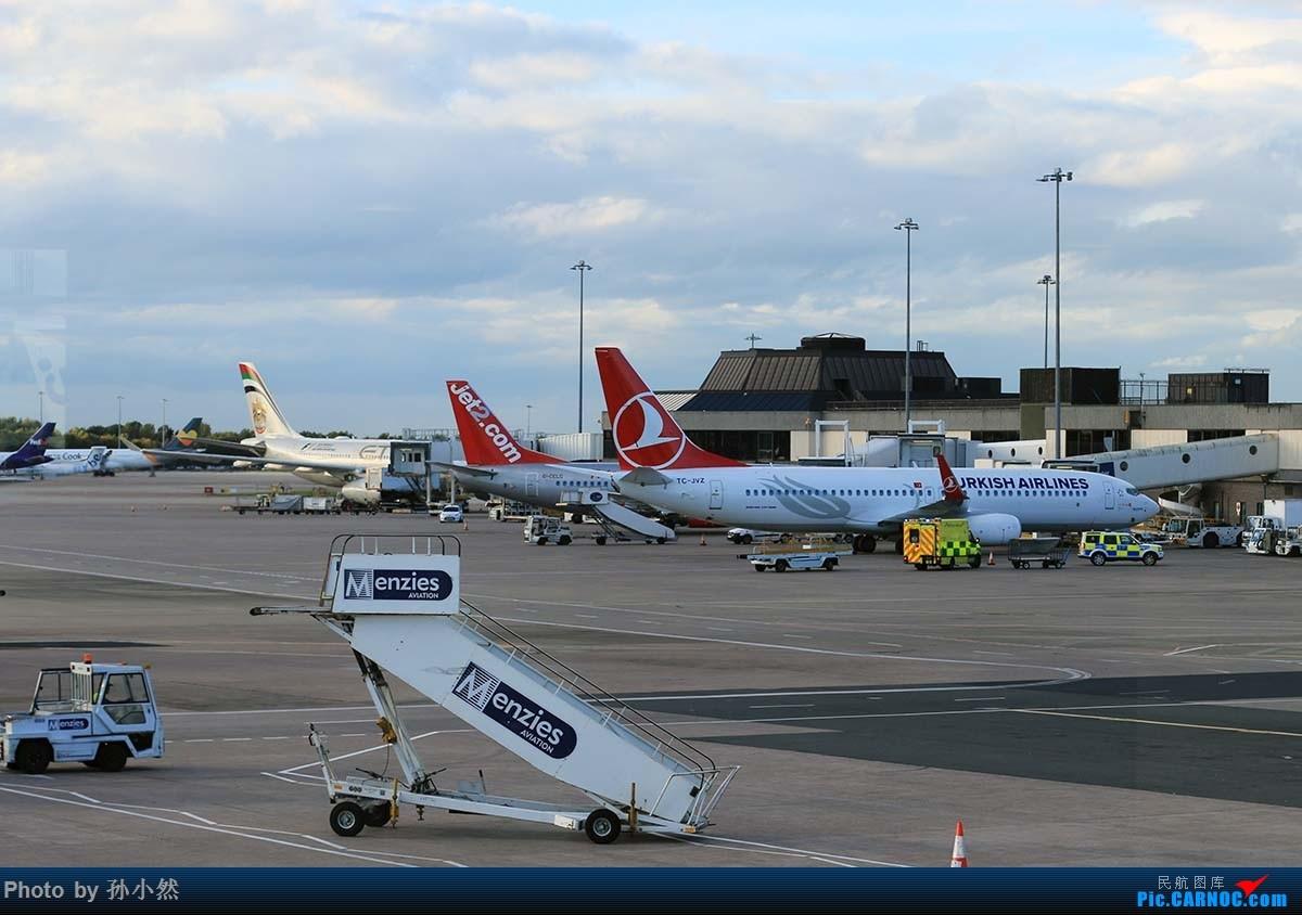 Re:[原创]曼彻斯特-哥本哈根-爱丁堡 MAN-CPH-EDI 欧洲自制铁空联运easyjet BOEING 737-800 TC-JVZ 英国曼彻斯特机场
