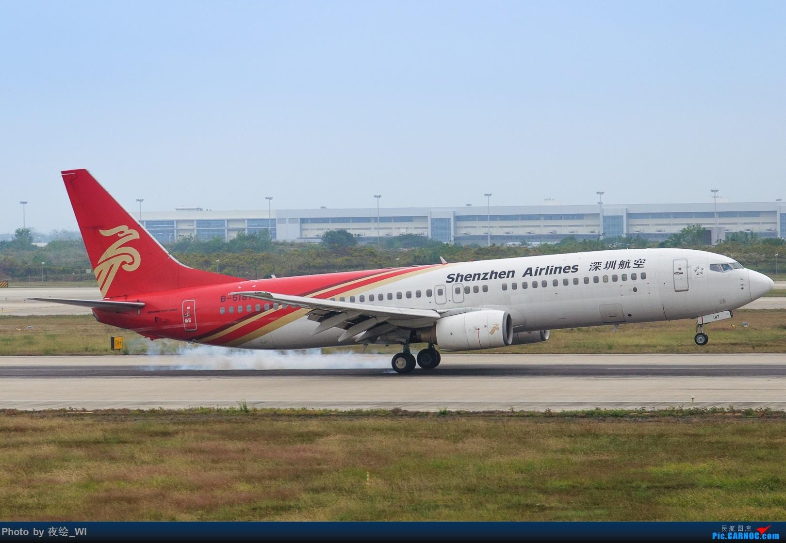 [原创]【NKG】生日也要拍飞机,珍惜南京久违的单跑运行时光 BOEING 737-800 B-5187 中国南京禄口国际机场