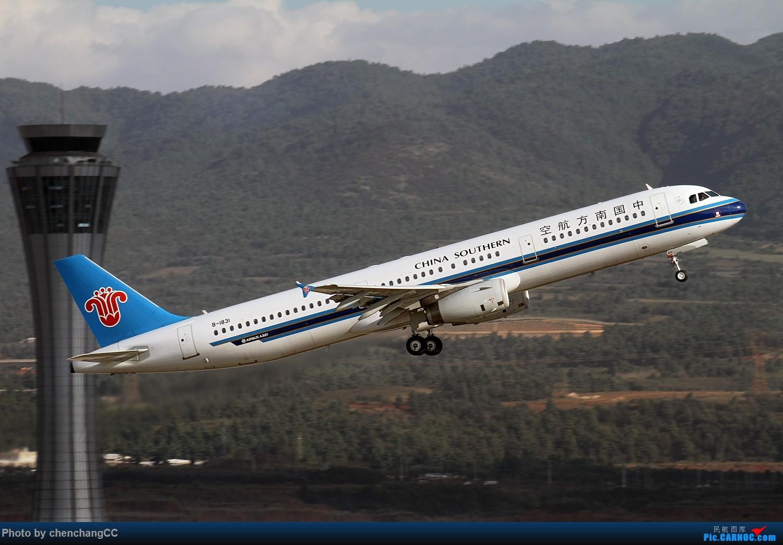 Re:[原创]【chenchangCC】珠海航展前,趁着天气好去热热身,练练手! AIRBUS A321-200 B-1831 中国昆明长水国际机场