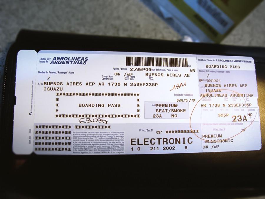 Re:【 阿根廷航空 | 奥斯特拉尔航空 | 澳航 | 零九年印象伊瓜苏 】·【 五年后重游阿根廷 | 智利航空 | 卡塔尔航 | 新航 】