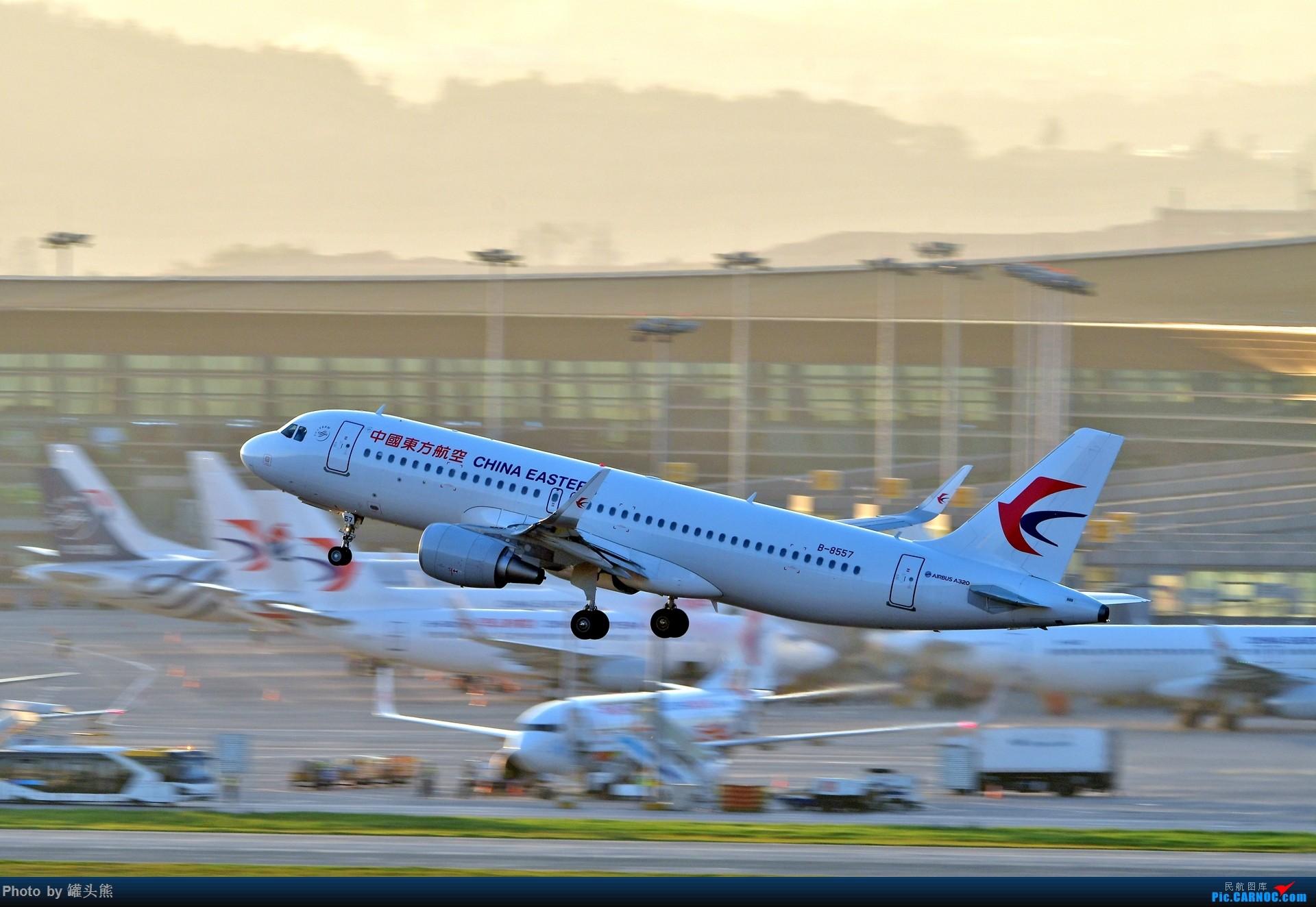 Re:[原创]【KMG]】东跑逆光 AIRBUS A320-200 B-8557 中国昆明长水国际机场