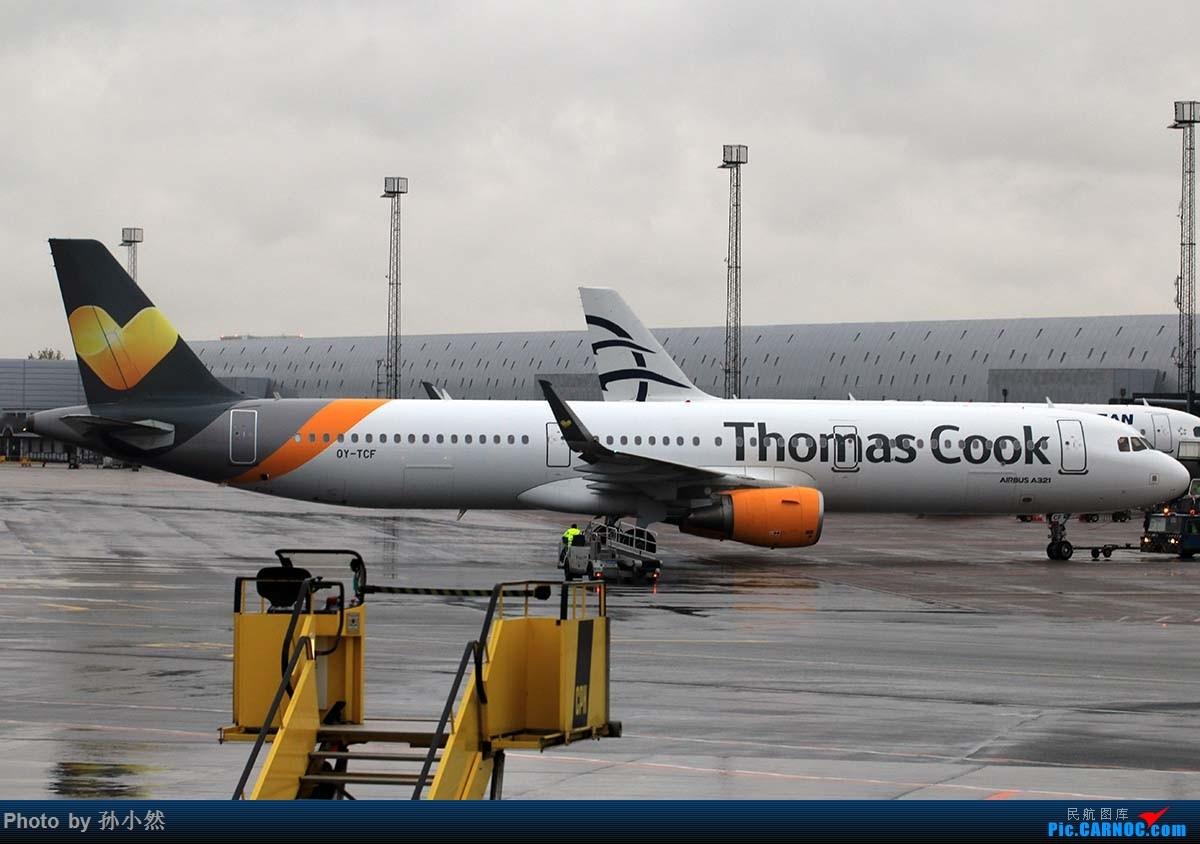 Re:[原创]曼彻斯特-哥本哈根-爱丁堡 MAN-CPH-EDI 欧洲自制铁空联运easyjet AIRBUS A321 OY-TCF 丹麦哥本哈根凯斯楚普机场