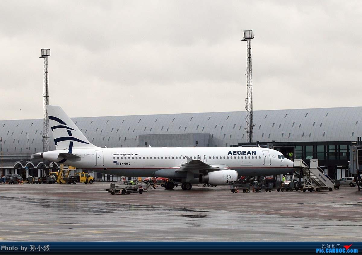 Re:[原创]曼彻斯特-哥本哈根-爱丁堡 MAN-CPH-EDI 欧洲自制铁空联运easyjet AIRBUS A320-200 SX-DVG 丹麦哥本哈根凯斯楚普机场
