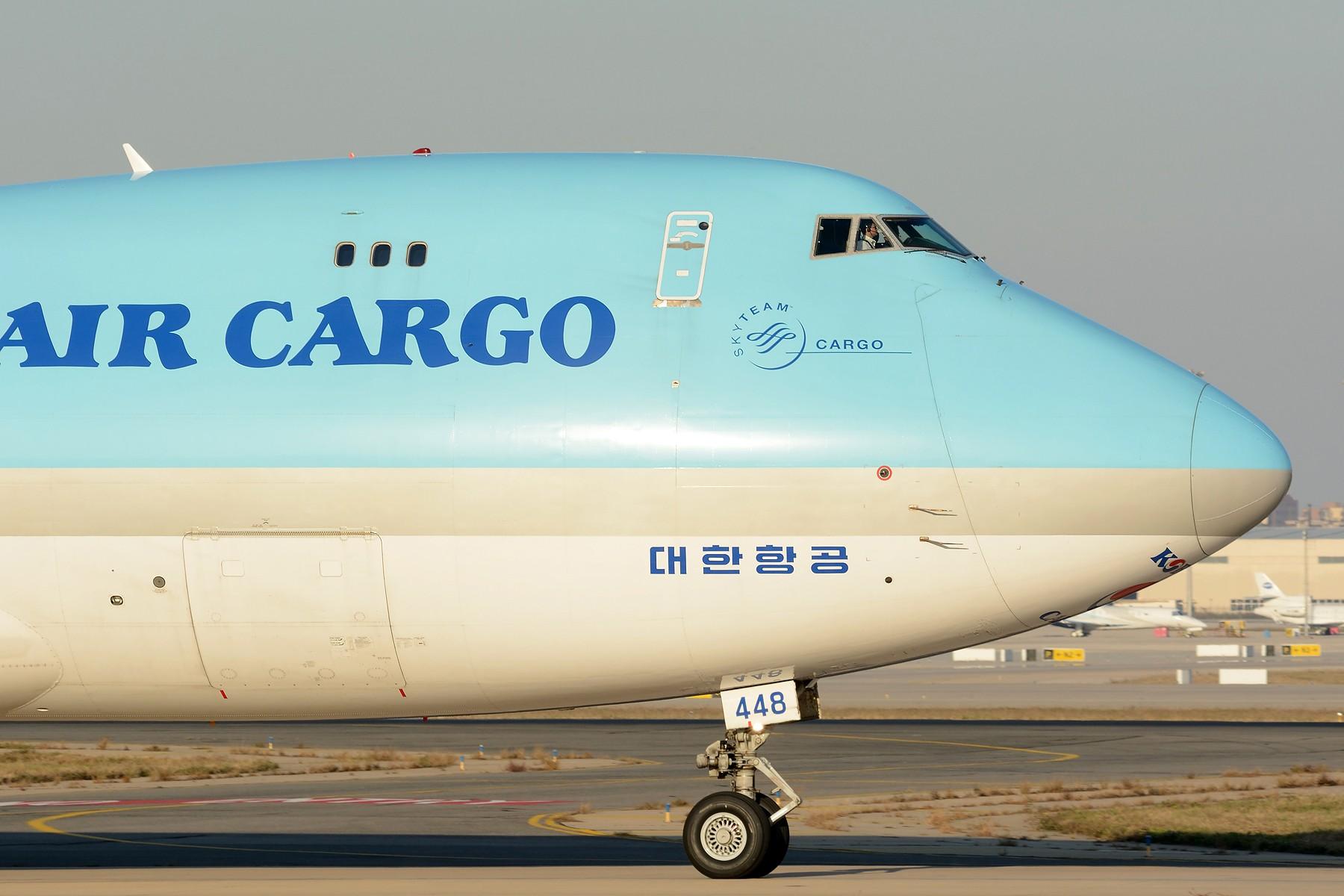 [原创]【TSN】流窜作业卡狗几只 BOEING 747-400F HL7448 中国天津滨海国际机场