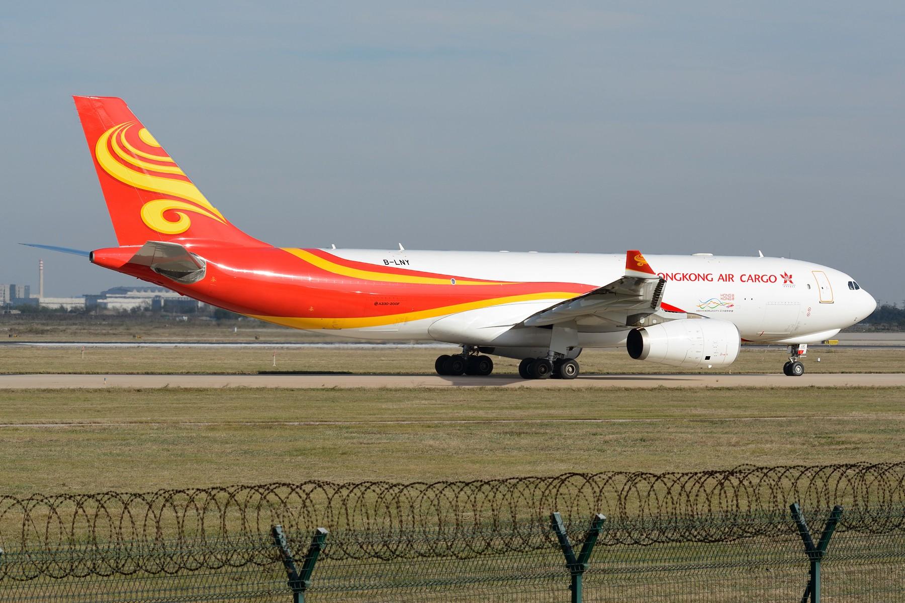 Re:[原创]【TSN】流窜作业卡狗几只 AIRBUS A330-200 B-LNY 中国天津滨海国际机场