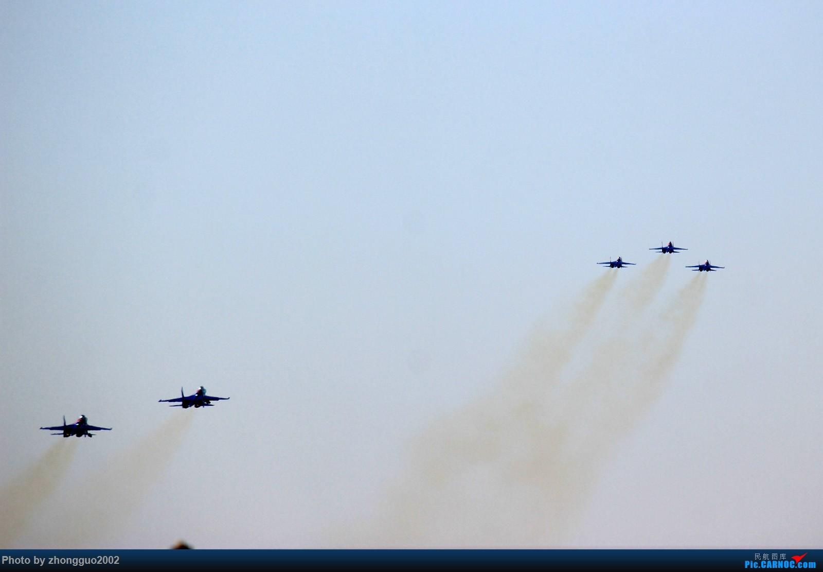 Re:[原创]目送俄罗斯勇士表演队飞向珠海!