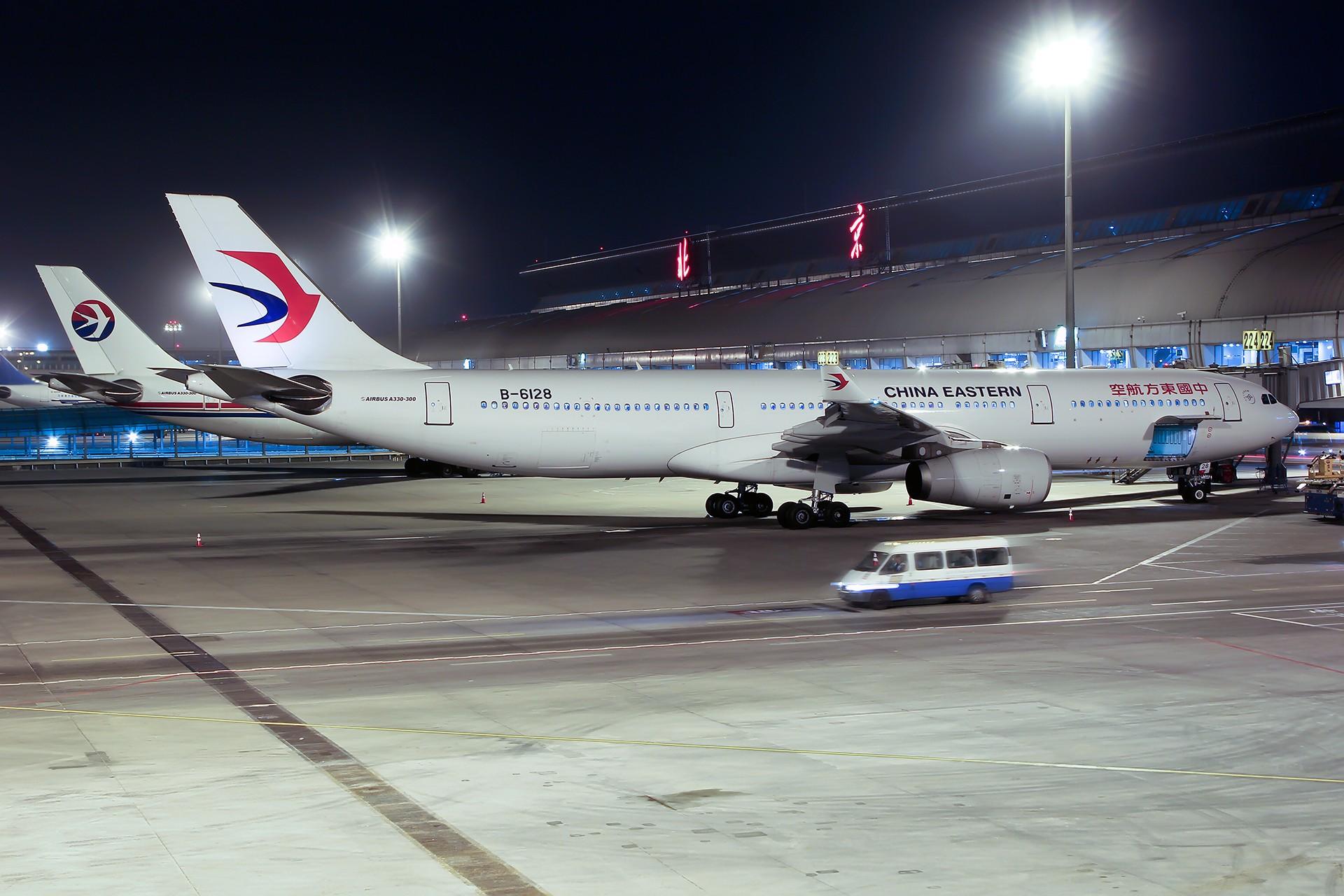 [原创][PEK]。。。北京 。。。 AIRBUS A330-300 B-6128 中国北京首都国际机场