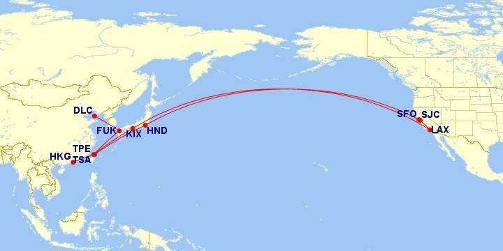 Re: [原创]【长春飞友会】fish8 (29): 日航台北美西 BUG 票 TPE-KIX-LAX-SJC SFO-HND-TSA