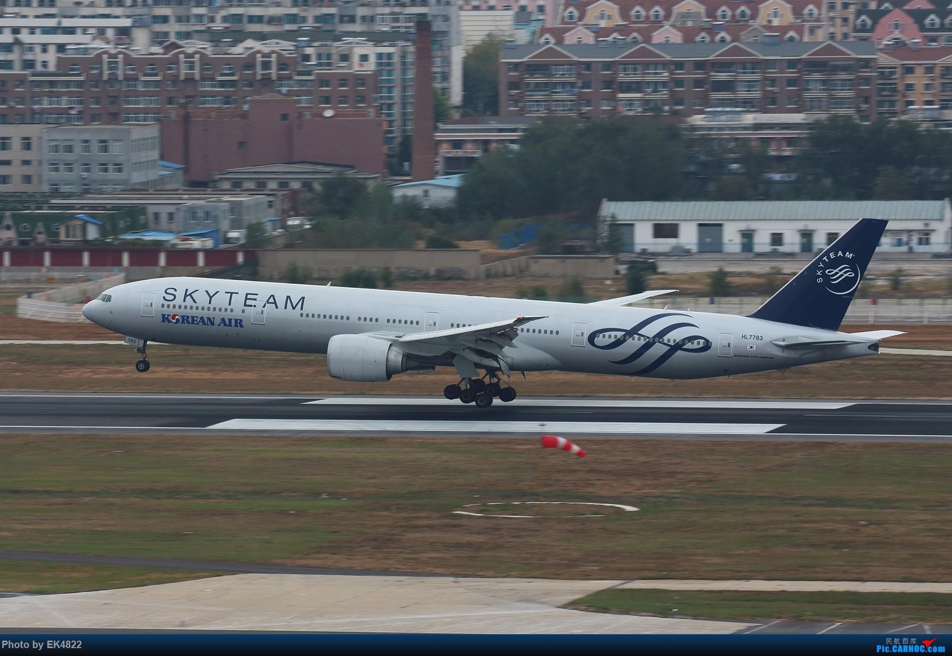 Re:[原创][ZYTL] 新与旧 BOEING 777-300ER HL7783 大连周水子国际机场