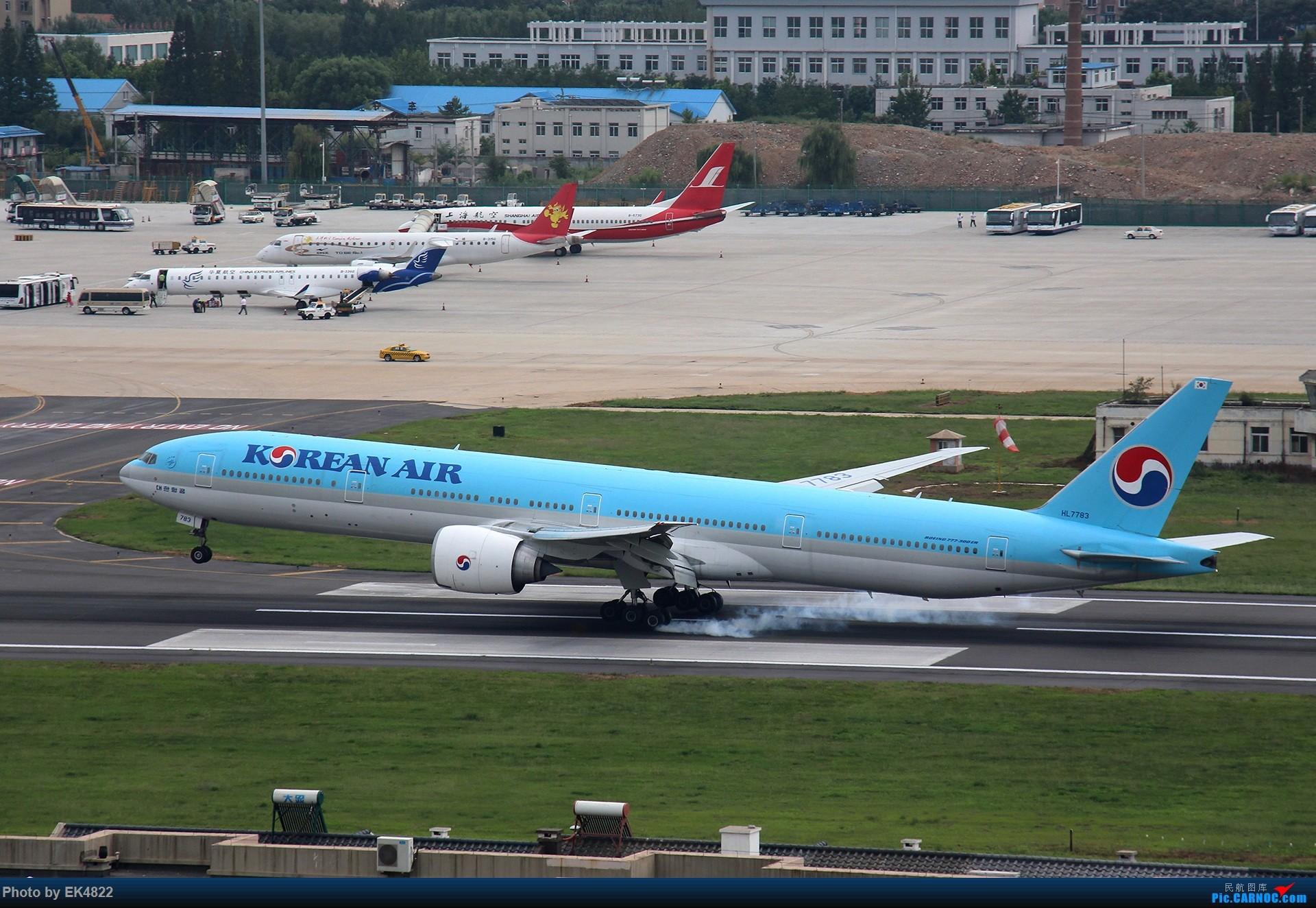 Re:[ZYTL] 新与旧 BOEING 777-300ER HL7783 大连周水子国际机场