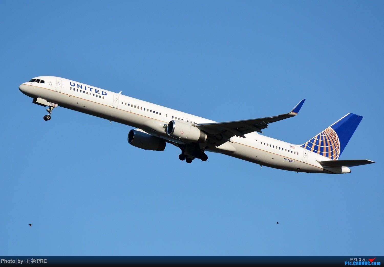 Re:DCA拍机:蓝天下的华盛顿里根机场 BOEING 757-300 N77867 华盛顿里根机场