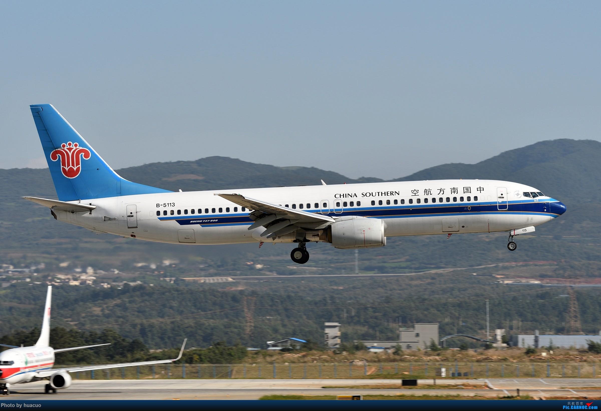 Re:[原创]【KMG】下雨天,只能猫家里了 BOEING 737-800 B-5113 中国昆明长水国际机场