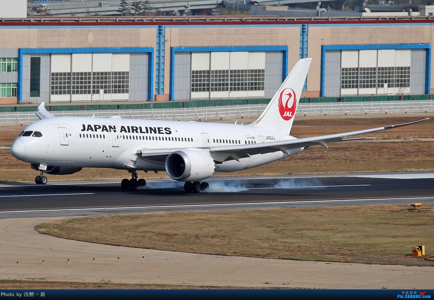 Re:[原创]DLC 787专场演出 BOEING 787-8 JA824J 中国大连国际机场