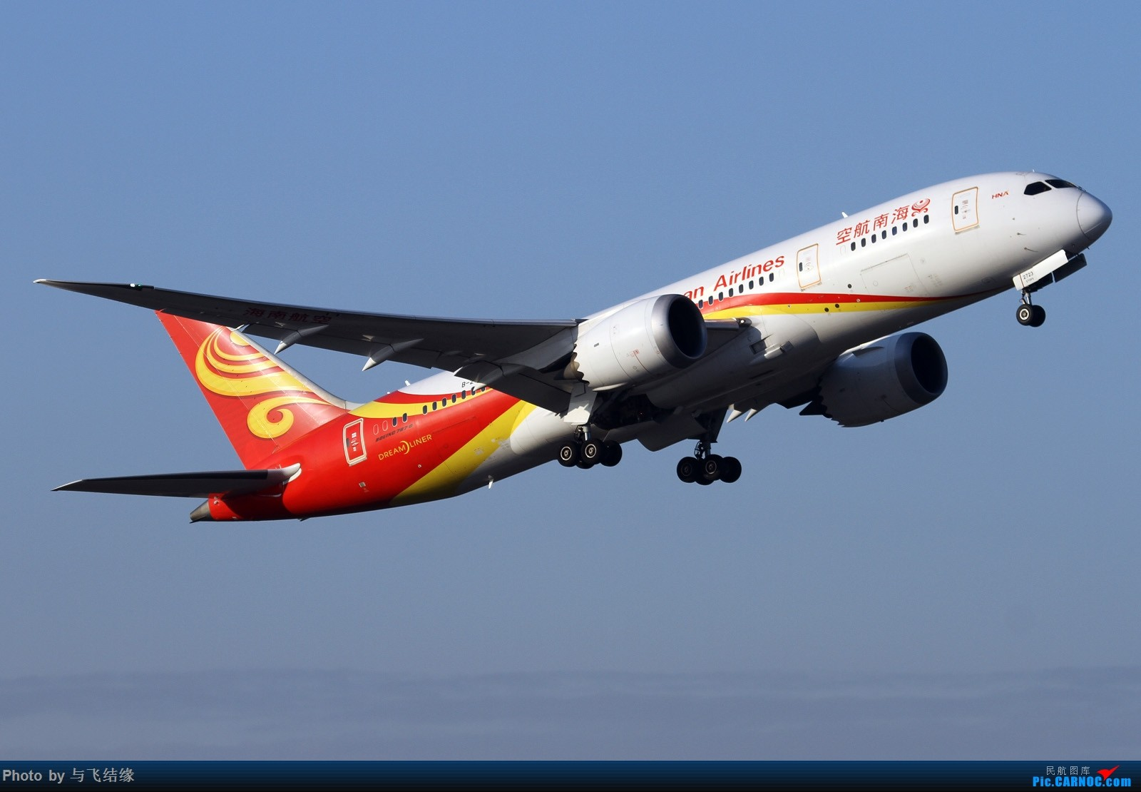 Re:波音787和777真的是好飞机,喜欢787与777。 BOEING 787-8 B-2723 中国北京首都国际机场