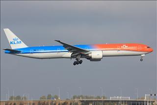【AMS】烂天来好货 KLM橙色骄傲77W