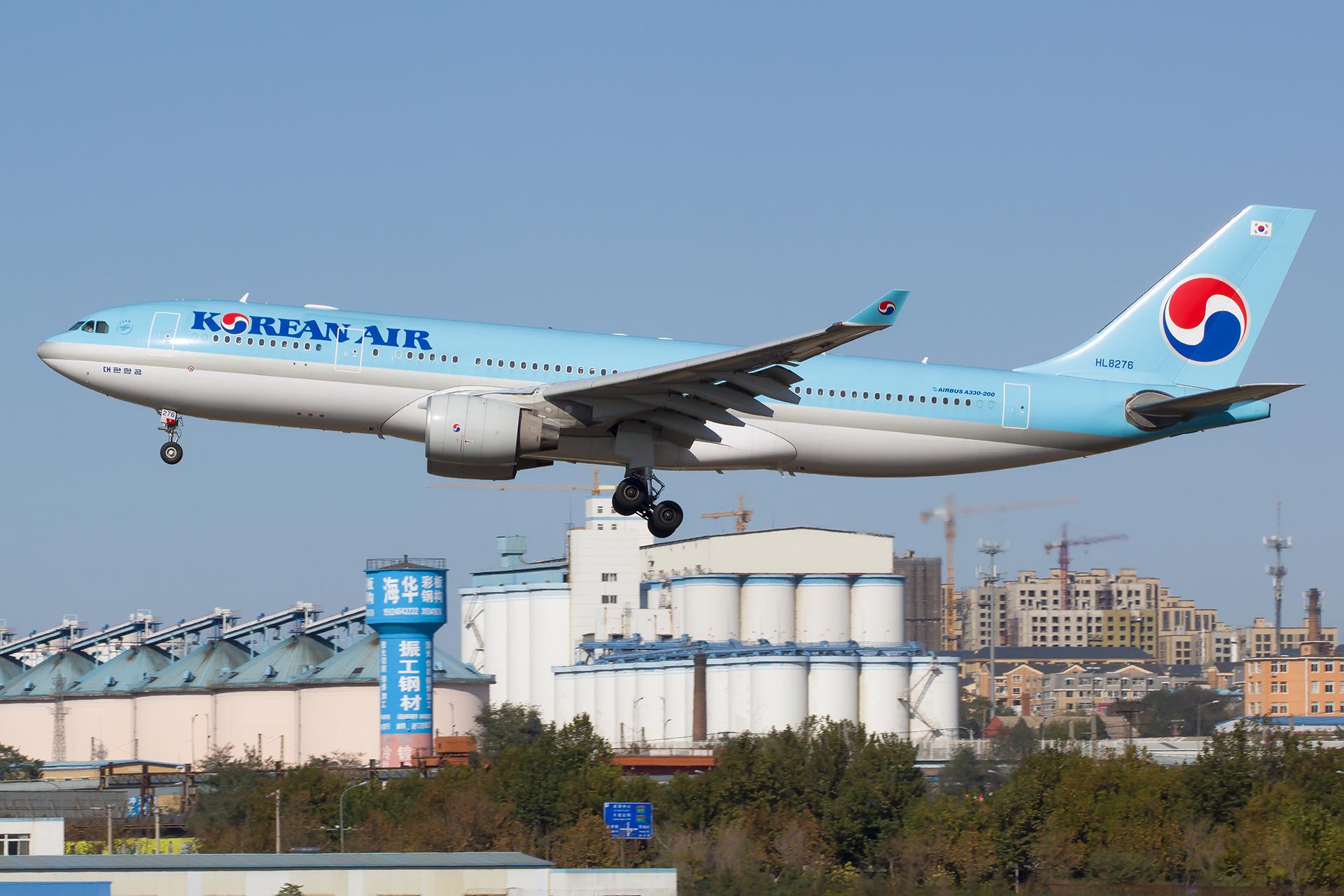 Re:[原创][DLC]。。。宽体三张 。。。 AIRBUS A330-200 HL8276 中国大连国际机场