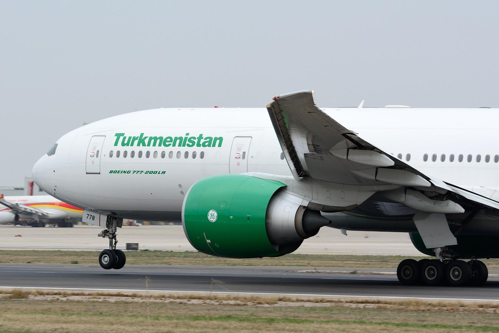 Re:[原创]【PEK】~土库曼斯坦&哈萨克斯坦~ BOEING 777-200LR EZ-A778 中国北京首都国际机场