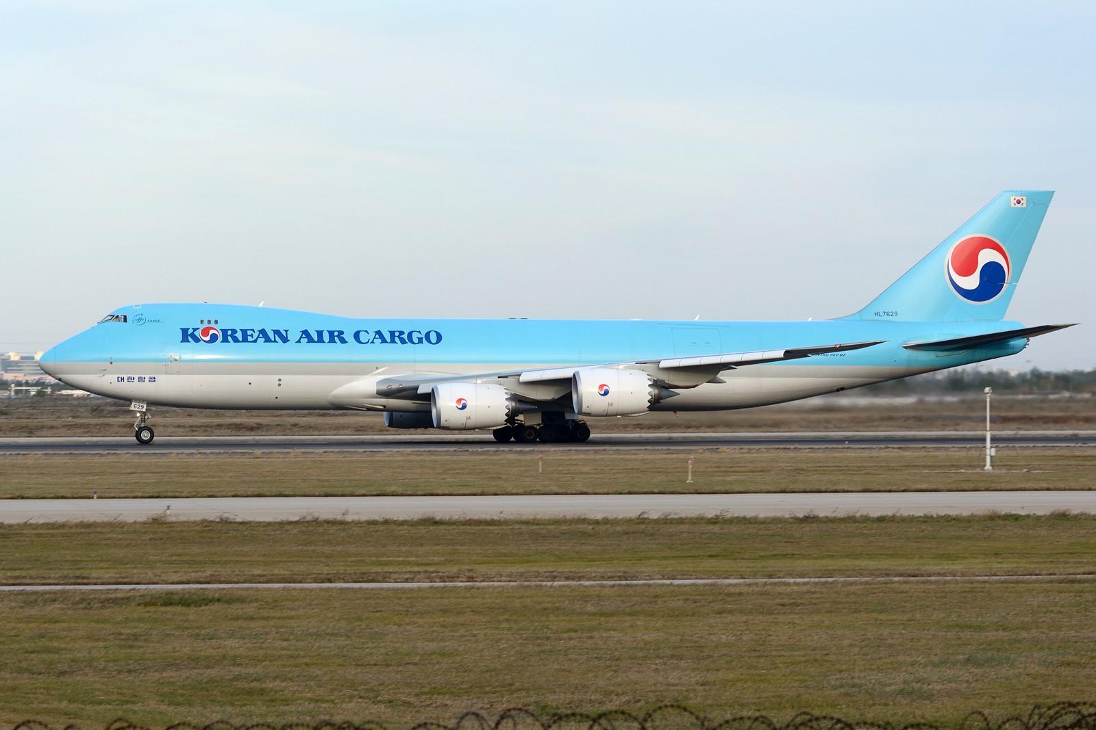 Re:[原创]【TSN】继续冷饭之各类卡狗 BOEING 747-8F HL7629 中国天津滨海国际机场