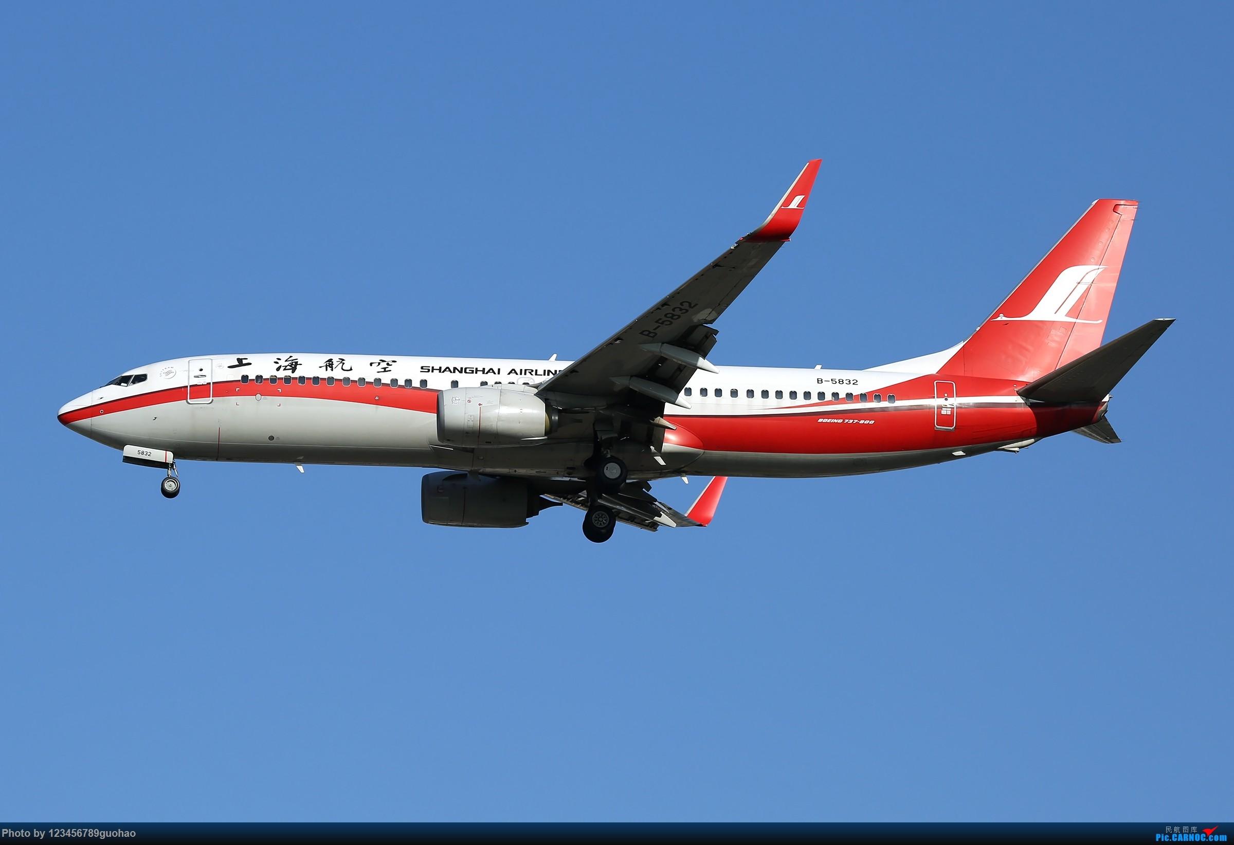 [原创]一图党 -小可乐 BOEING 737-800 B-5832 北京首都国际机场
