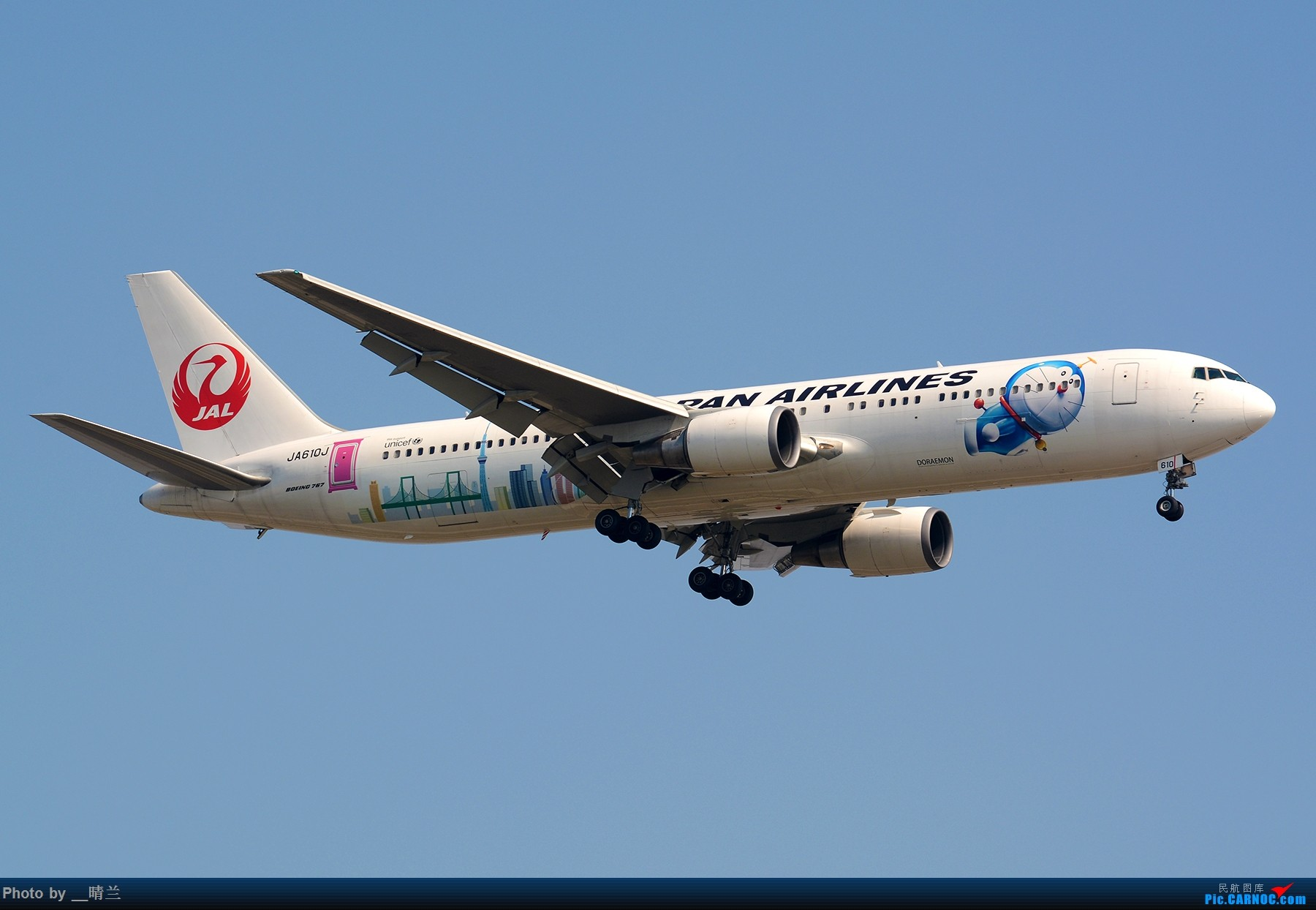 """[原创]【二图流】""""我们都想 离开这边 追寻另一边"""" BOEING 767-300ER JA610J 中国上海浦东国际机场"""
