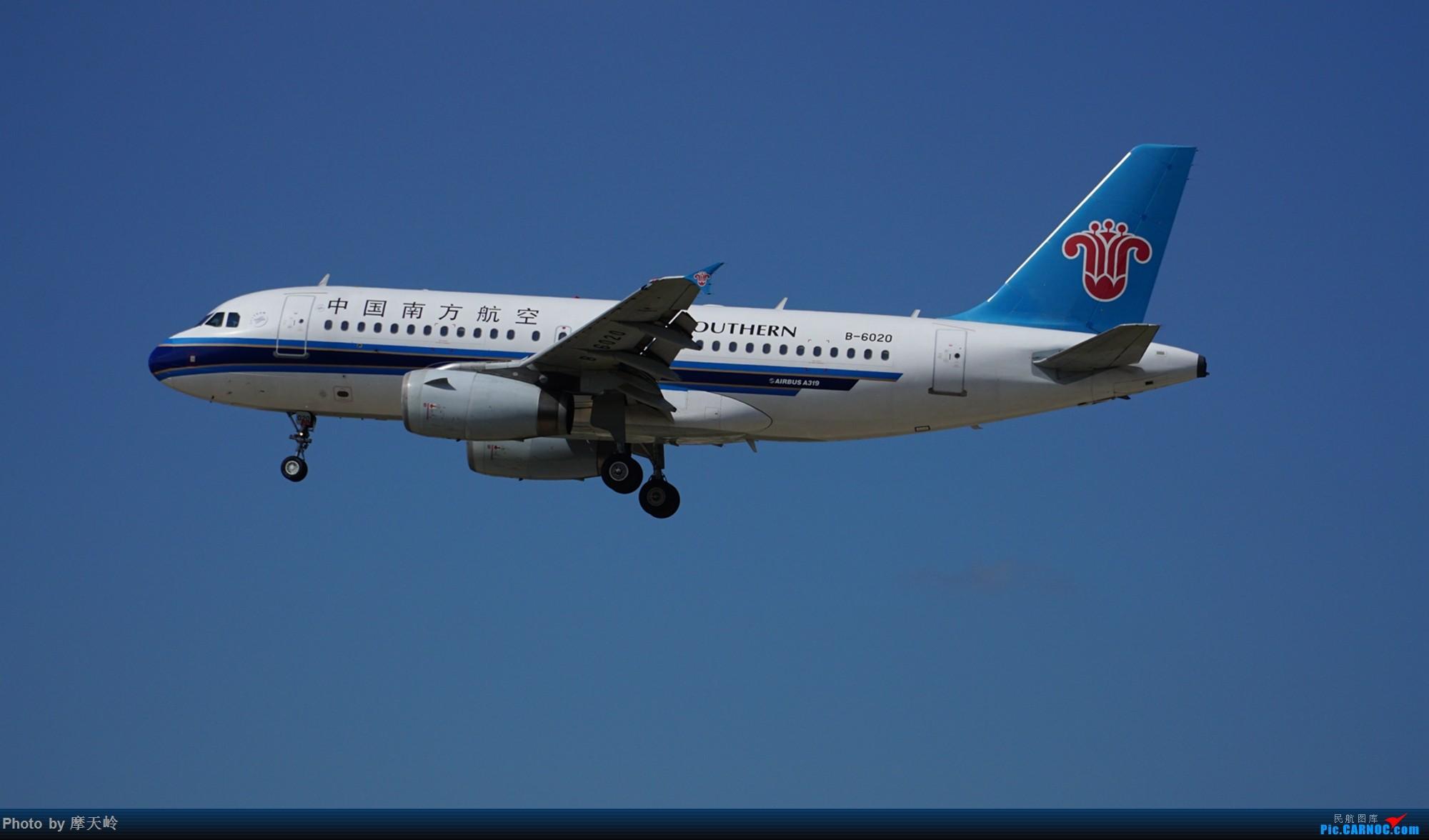 Re:[原创]长水东跑道 AIRBUS A319-100 B-6020 中国昆明长水国际机场