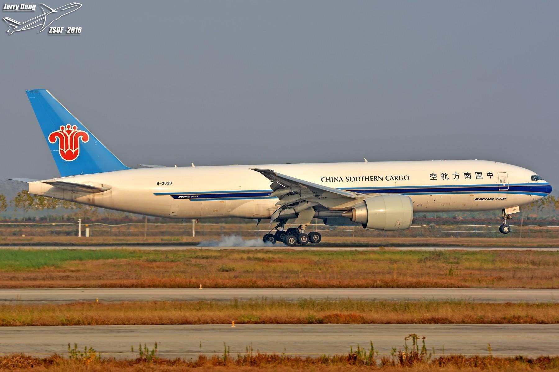 Re:【合肥飞友会·霸都打机队】夕阳无限美,只是近黄昏 BOEING 777-200 B-2028 中国合肥新桥国际机场